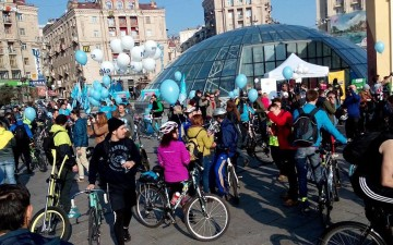 8 Ukrainian cities have hosted Bike to Work events