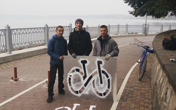 Cycling concept is being created in Ternopil