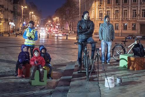 Future cyclists - photo by Nicholas Bazanov