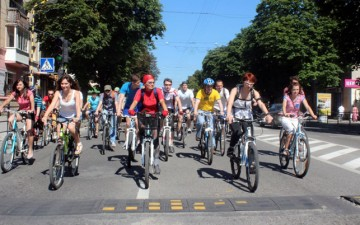 The  development program of cycling infrastructure for 2016-2020 was adopted in Ternopil