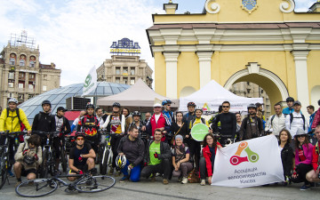 Autumn Bike to Work Day took place in Ukraine on September 17