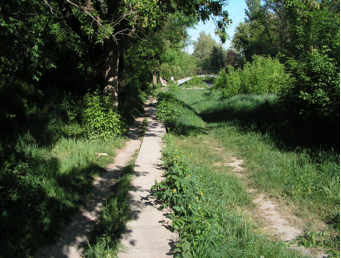 bike trail Simferopol
