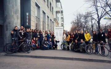 Projects by cycling activists from Kharkiv and Poltava have won the Small Grants Competition